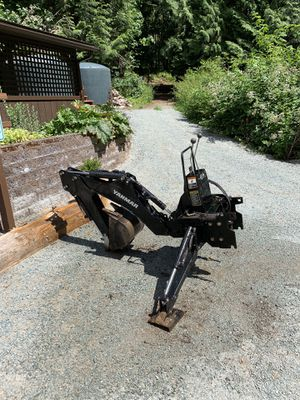 Backhoe - Excellent Condition for Sale in Everett, WA