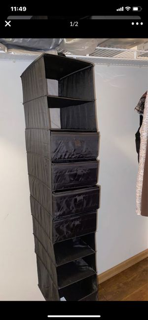 9 Shelf Hanging Closet Organizer for Sale in Streamwood, IL