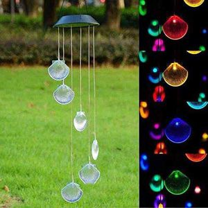 Solar Wind Chimes Sea Shell for Sale in Chino, CA