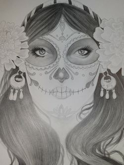 Day Of The Dead Prison Art.....$100 for Sale in Mount Hamilton,  CA