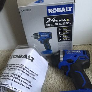 Brand New NEVER USED Kobalt 24v 3/8 impact wrench ( Tool Only) for Sale in Sully Station, VA