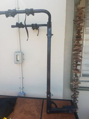 Double bike carrier by hitch for Sale in Pompano Beach, FL