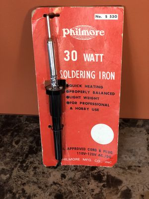Philmore 30 Watt Soldering Iron for Sale in Brooklyn, NY