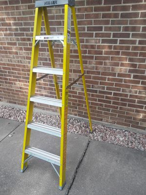 Ladder Fiberglass 6' 250 pound.. READ AD.. for Sale in Tinley Park, IL