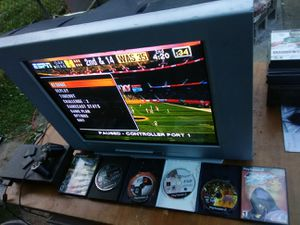 Sony 27 inch TV with retro gaming ports for Sale in Washington, DC