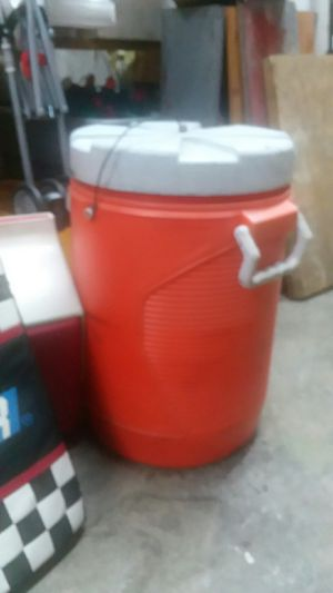 Extra large cooler with fluid spout for Sale in Hadley, KY