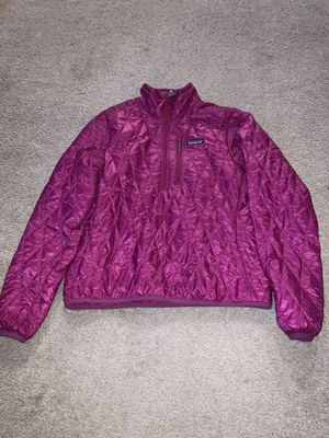 Patagonia pink women M nano puff jacket for Sale in Olympia, WA