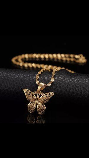 St.kunkka Butterfly Statement Necklaces for Sale in Phoenix, AZ