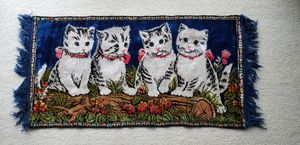 Cat Rug for Sale in MONTGMRY, IL