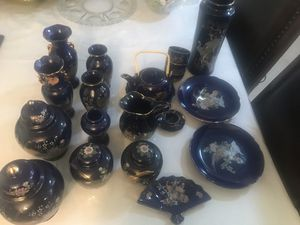 Blue China set antique for Sale in Lemon Grove, CA