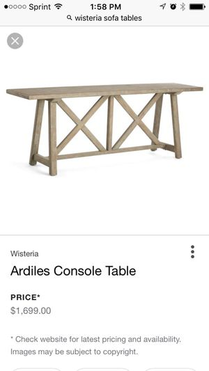 Brand New Console Table for Sale in Denver, CO