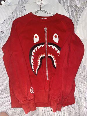 BAPE Shark Sweatshirt - Size L Men for Sale in Los Angeles, CA