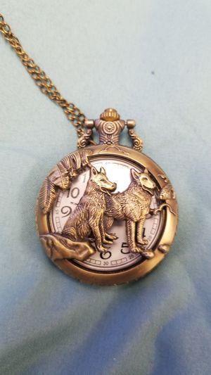 Wolf Pocket Watch for Sale in Grand Island, NE