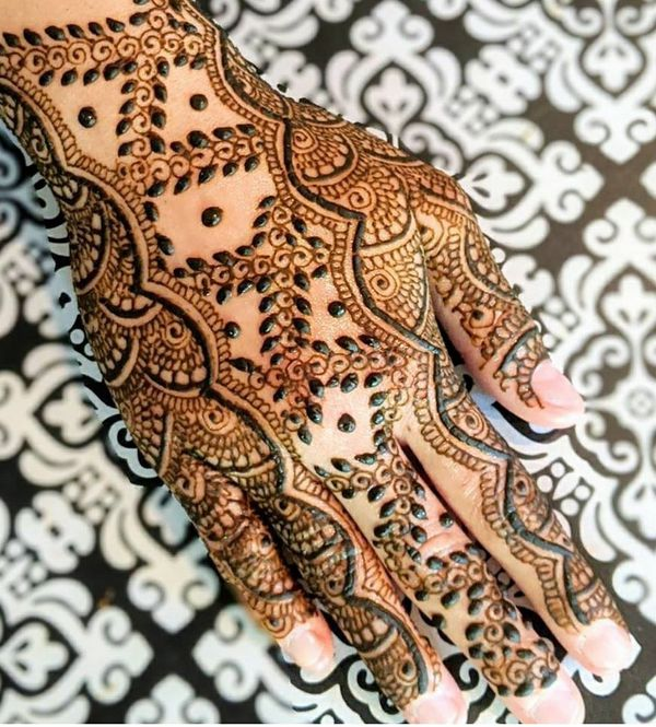 6 Henna Cones