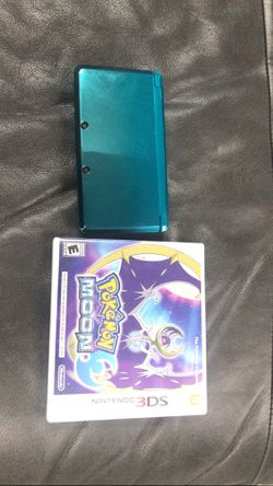Nintendo 3DS With Pokémon Moon 🌙 for Sale in Silver Spring,  MD