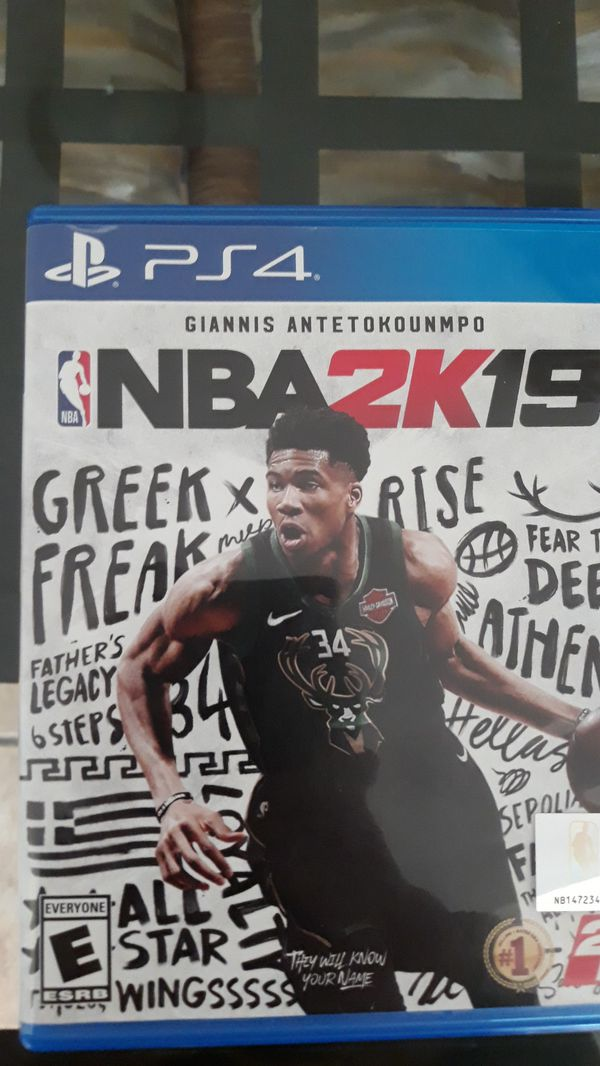 Fifa 19 nba 2k 19 for sale