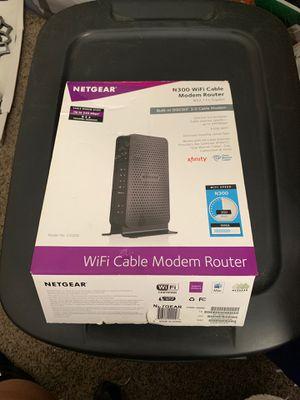 Netgear Cable Modem Router for Sale in Hemet, CA