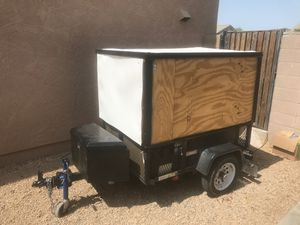 Enclosed pull trailer 62x44x48 for Sale in El Mirage, AZ