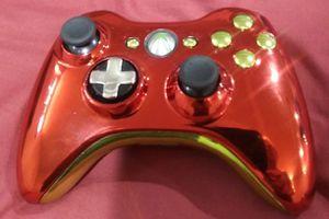 Iron man design xbox 360 controller for Sale in Grand Island, NE
