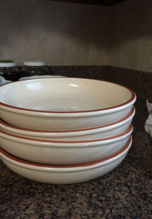 Serving dish for good price.all four together. Moving sale