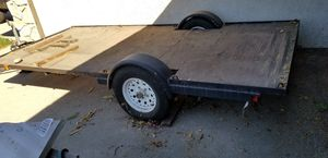 Trailer 12x5 tows straight no sway for Sale in Alta Loma, CA