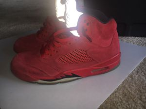 Red suede 5s sz 8.5 for Sale in Silver Spring, MD