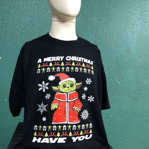 Baby Yoda holiday T's for Sale in Von Ormy, TX