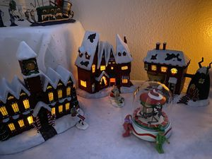 Nightmare Before Christmas Village for Sale in Tustin, CA
