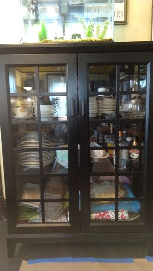 Crate and Barrel buffet or storage cupboard for Sale in Tacoma, WA