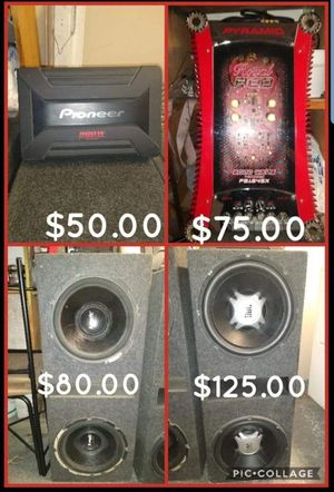 Car Audio systems stereos all can be tested for knock. for Sale in Las Vegas, NV