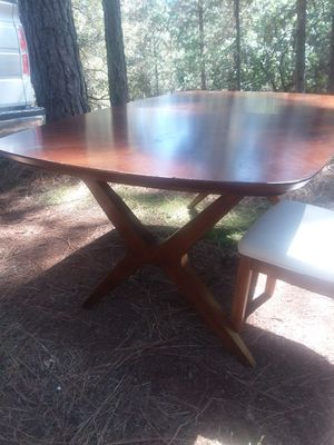 Solid Wood Dining Table for Sale in Applegate, CA