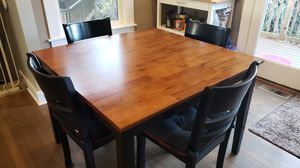 5pc Square Dining Set for Sale in Vancouver, WA