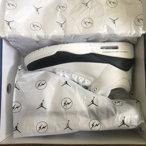 BRAND NEW NIKE AIR JORDAN RETRO 3 FRAGMENT SIZE 13 $360 for Sale in Temple City, CA