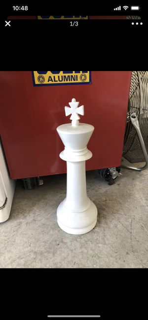Decor chess piece for Sale in Las Vegas, NV