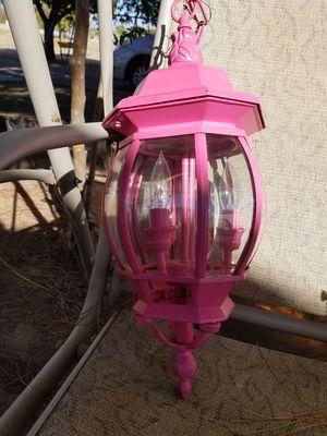 Pink chandelier for Sale in Sanger, CA