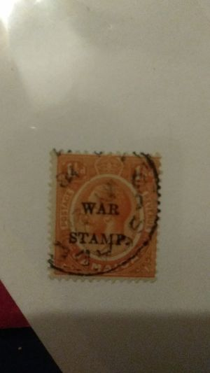 HipStamp Jamaica MR8 USED 1917 War Tax Stamp 1½d for Sale in Indiahoma, OK