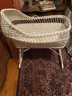 Antique bassinet for Sale in Cherry Valley, CA