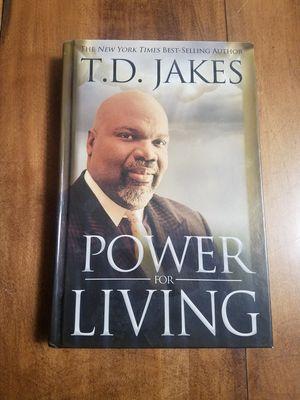 T.D. Jake's Power For Living Hardback Book for Sale in Morgantown, WV