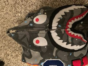 bape shark hoodie space camo for Sale in Denver, CO