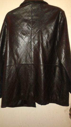 XL LAMBSKIN LEATHER COAT for Sale in Las Vegas, NV