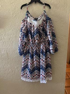 Girls 3/4 sleeve dress size 12 for Sale in Surprise, AZ
