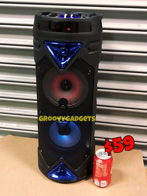 🎄 Loud Bluetooth Tower • BASS • Clear • Portable & Rechargeable 🎄 New In Box for Sale in Los Angeles, CA