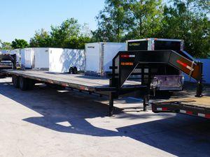 Flatbed Gooseneck Trailer 36ft for Sale in Fort Lauderdale, FL