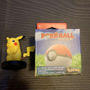 Pokeball Plus + Pikachu For Nintendo Switch (Like New) for Sale in South Salt Lake, UT