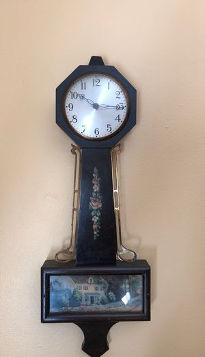 Small antique clock. As is condition. for Sale in Rockville, MD