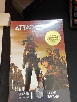 Attack on Titan Season 1 Part 1 for Sale in Fresno,  CA
