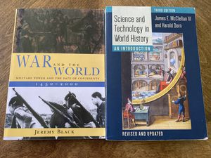 War and the World & Science and Technology World History for Sale in Dearborn, MI