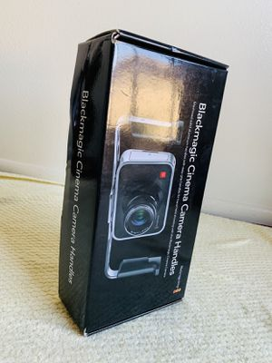 Blackmagic Design Cinema Camera Handles brand new never used. for Sale in Garden Grove, CA