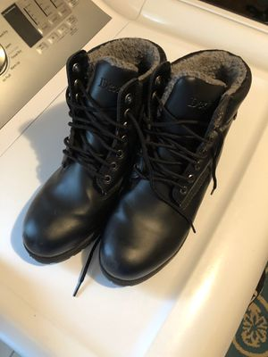 Men Black Dexter Work Boots Size 10.5 M Waterproof Pre Owned Excellent Condition for Sale in Wilmette, IL