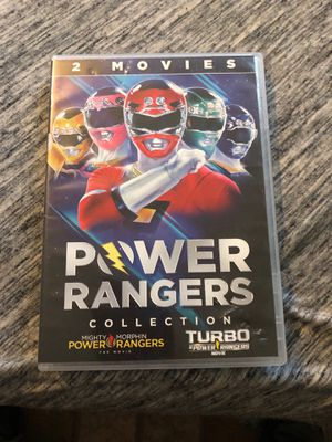 Power Rangers collection dvd for Sale in Orlando, FL